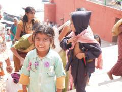 インド一人旅    マザーテレサハウス ボランティア